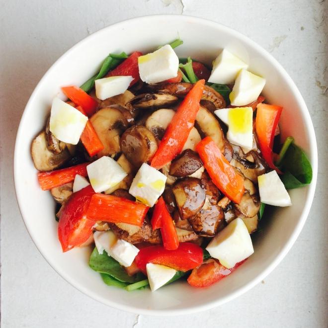 baby bella salad 2