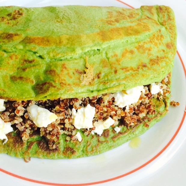 Savory Spinach Pancake