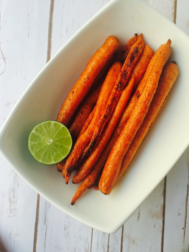 Lime Roasted Carrots